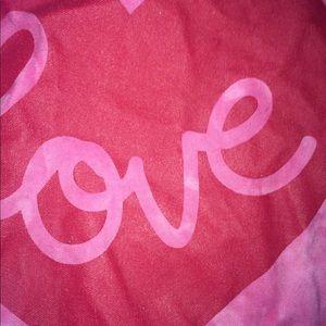 Bags - Pink Red Cute Love Tote Bag